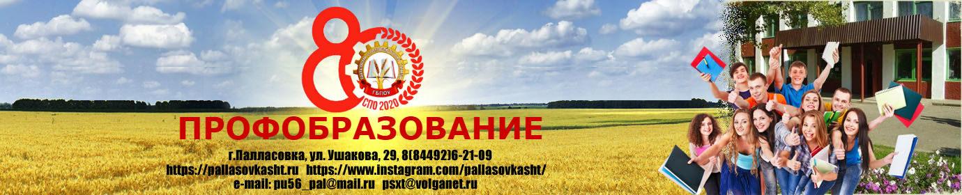 ГБПОУ Палласовский сельскохозяйственный техникум